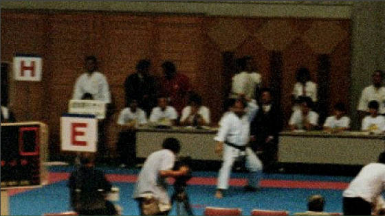 Kyoshi takes 10th out of 3000 Black Belts Japan